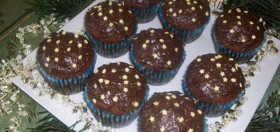 Piernikowo-śliwkowe muffinki (autor: elka72)