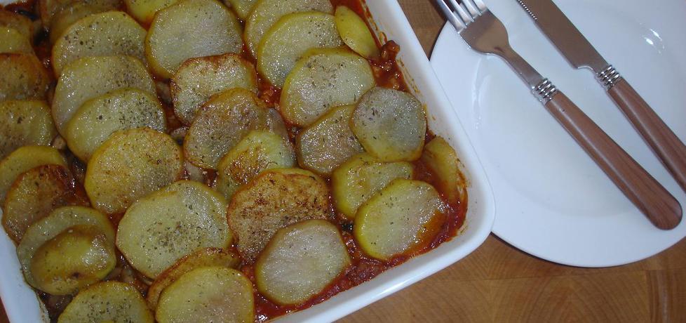 Zapiekanka z sosem spaghetti łowicz (autor: cukiereczek ...