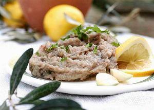 Pasta z bakłażanów i oliwy  prosty przepis i składniki