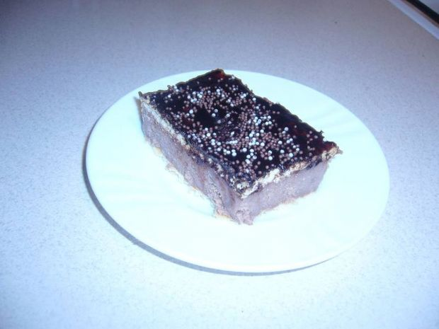 Kakaowe ciasto z kaszy manny bez pieczenia