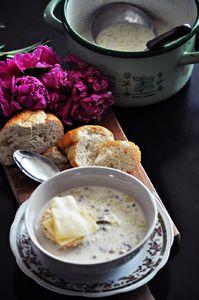 Francuska zupa serowa