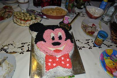 Tort myszka miki