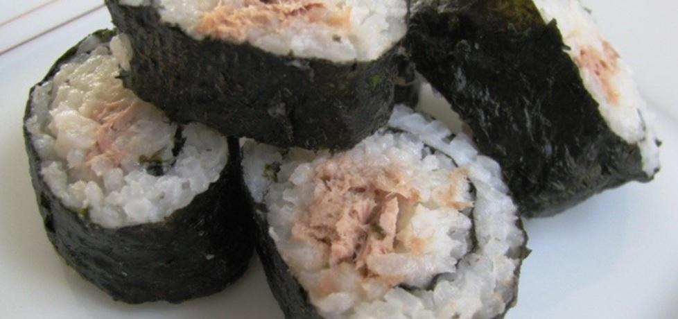 Sushi maki z pastą z tuńczyka (autor: panimisiowa ...