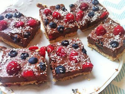 Czekoladowe ciasto w wersji fit