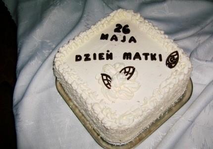 Tort dla kochanej mamy