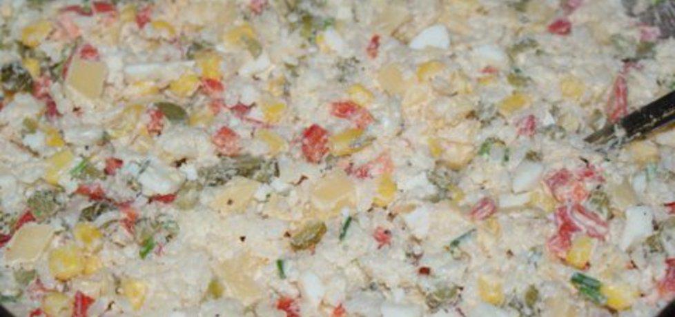 Sałatka z ryżem kolorowa (autor: jadwiga18)