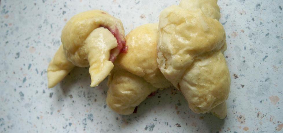 Rogaliki z dżemem wiśniowym (autor: mariola21)