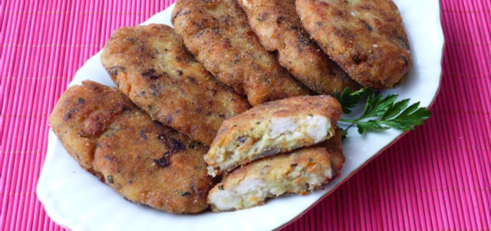 Kotlety z ziemniaków, mięsa i pieczarek (autor: renatazet ...