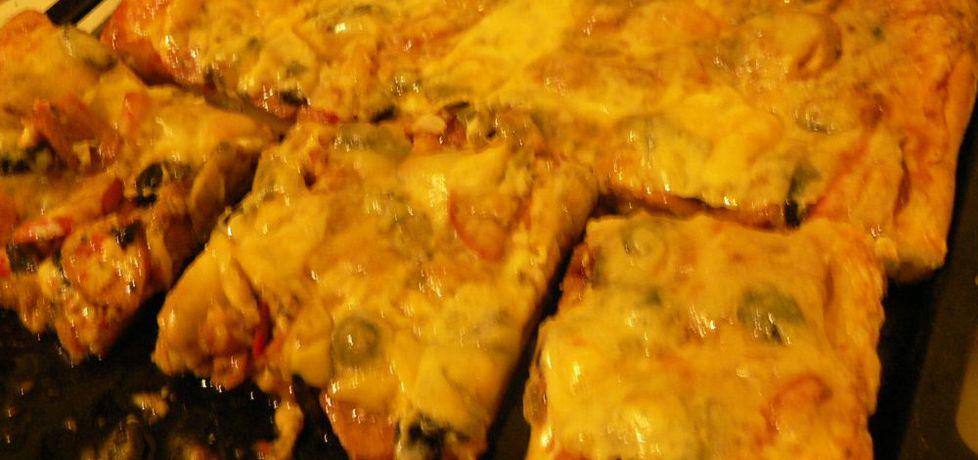Pizza z kiełbasą (autor: goofy9)