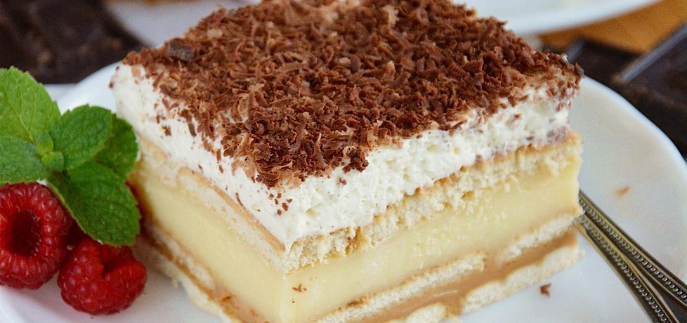 Ciasto 3 bit z herbatnikami (bez pieczenia) (autor: slodkieniebo ...