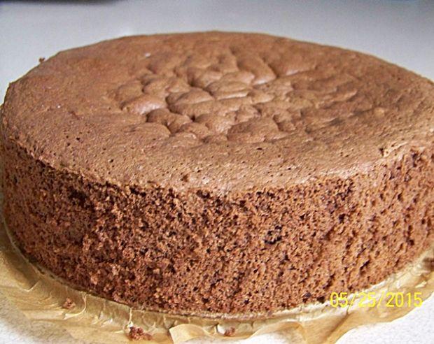 Przepis  biszkopt czekoladowy z 3 jaj  najlepszy przepis