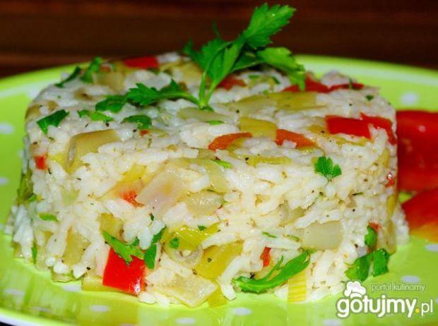 Przepis  ryż z warzywami wg evita0007 przepis