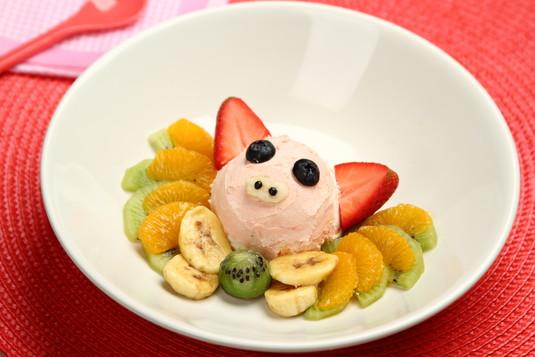 Najlepsze lody dla dzieci świnka