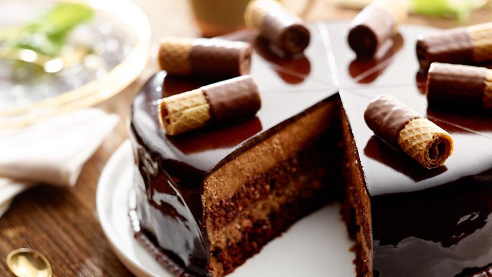 """Przepis na czekoladowe ciasto z kremem – """"czekoladowy sen ..."""