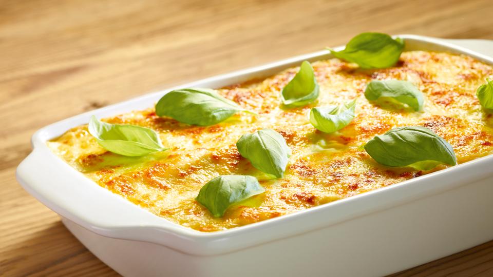 Przepis na lasagne z mozzarellą i suszonymi pomidorami