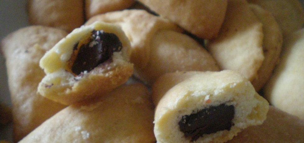 Rogaliki z czekoladą (autor: ilonaalbertos)