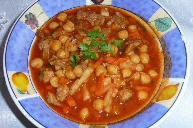 Przepis  zupa z ciecierzycy przepis