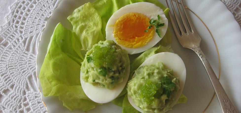 Jajka faszerowane musem awokado i wasabi (autor: anemon ...
