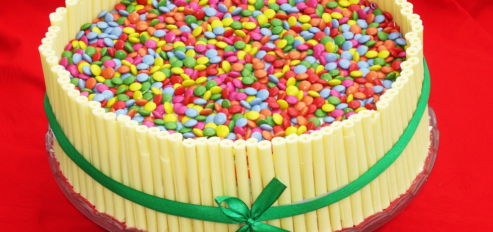 Tort śmietankowo czekoladowy (autor: danusia19671 ...