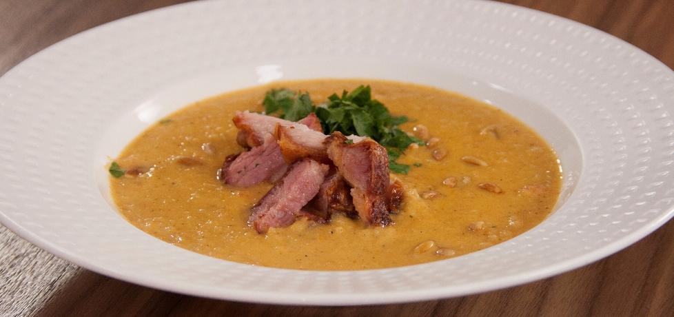 Przepis dnia iv, odc. 34: zupa krem z pasternaku z pieczonym ...