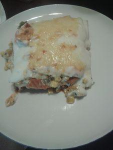 Lasagne z mięsem mielonym i warzywami