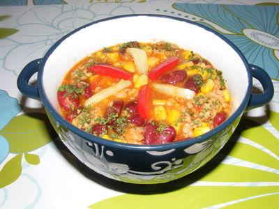 Rozgrzewająca zupa chili