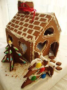 Domek z piernika   wymiary domku