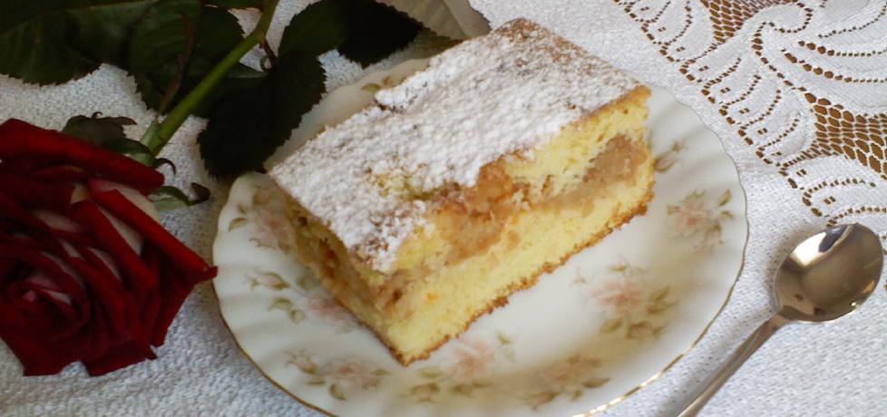 Ciasto kukurydziane z jabłkami (autor: mar3sta)