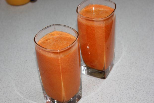 Przepis  domowy sok pomarańczowo