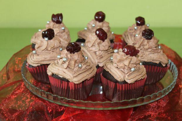 Przepis  mocno czekoladowe cupcake przepis