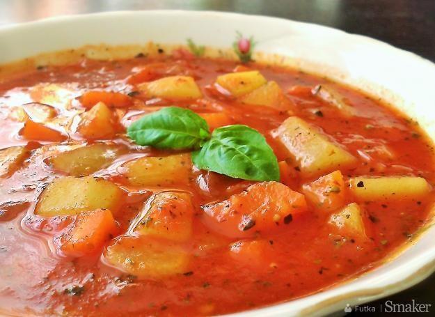 Włoska zupa pomidorowa