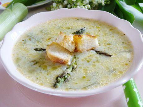 Przepis  zupa szparagowo-porowa przepis