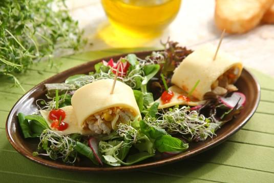Ślimaki kurczakowo- serowe