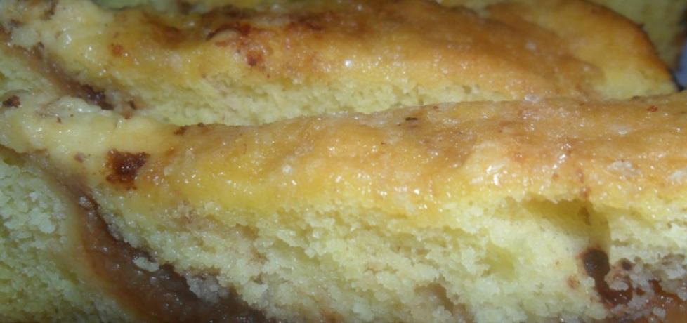 Ciasto biszkoptowe z musem z jabłek (autor: renatazet ...