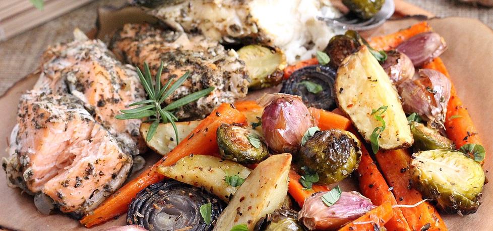 Ryby z warzywami z piekarnika (autor: mysza75)