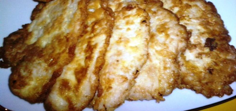 Eskalopki z kurczaka w panierce jajeczno