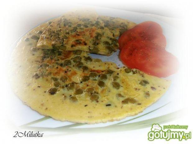 Przepis  omlet w kropeczki przepis