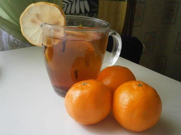 Przepis  herbatka na zimowe dni przepis