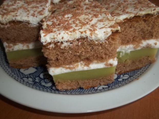 Przepis  ciasto gruszkowe z bitą śmietaną przepis