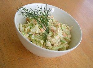 Surówka coleslaw  prosty przepis i składniki